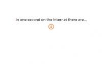 الإنترنت في ثانية.