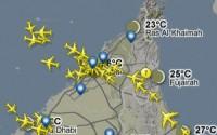 موقع-رادار-الرحلات-لمتابعة-حركة-الطائرات-برقم-الرحلة.