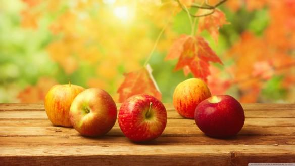صورة خلفية التفاح