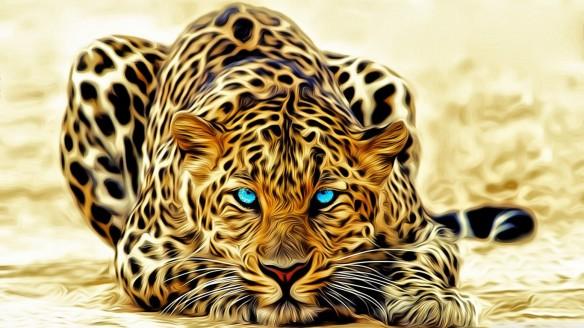 صورة خلفية النمر